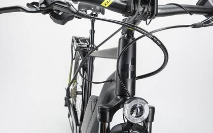 Detail image of Cube Touring Hybrid Exc 400 black´n´lime 2017 (4)