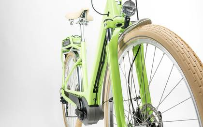 Detail image of Cube Elly Ride Hybrid 400 green´n´white 2017 (8)
