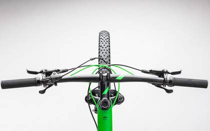 Detail image of Cube Reaction GTC Race 2x carbon´n´green 2017 (1)