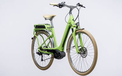 Detail image of Cube Elly Ride Hybrid 500 green´n´white 2017 (3)