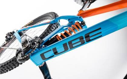 Detail image of Cube TWO15 HPA SL 27.5 blue´n´orange 2017 (6)