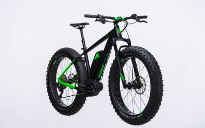 Detail image of Cube Nutrail Hybrid 500 black´n´green 2017 (3)
