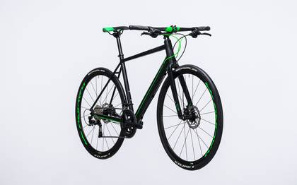 Detail image of Cube SL Road Race black´n´flashgreen 2017 (3)