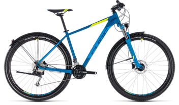 CUBE Aim SL Allroad blue´n´flashyellow 2018