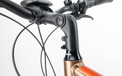 Detail image of Cube Travel Hybrid 500 havanna brown´n´orange 2017 (14)