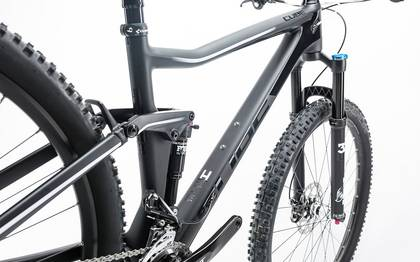 Detail image of Cube Stereo 120 HPC Race carbon´n´white 2017 (6)