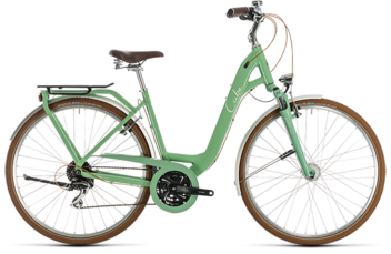 CUBE Ella Ride green´n´cream 2020