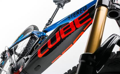 Detail image of Cube Stereo Hybrid 160 HPA Action Team 500 27.5 2017 (7)