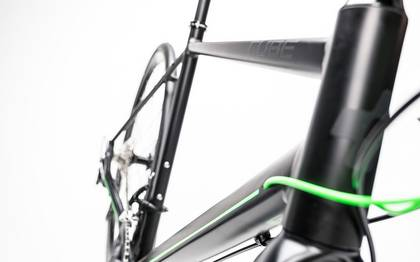 Detail image of Cube SL Road Race black´n´flashgreen 2017 (6)