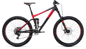 CUBE Stereo 160 HPA Race 27.5 black´n´red 2017
