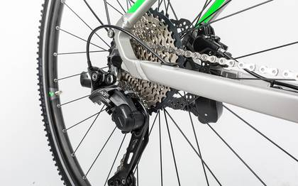 Detail image of Cube Cross Hybrid Race Allroad 500 silver´n´green 2017 (15)