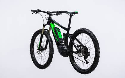 Detail image of Cube Stereo Hybrid 120 HPA Race 500 27.5+ black´n´green 2017 (12)