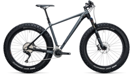CUBE Nutrail Race grey´n´black 2017