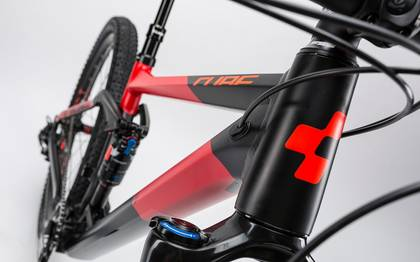 Detail image of Cube Stereo 160 HPA Race 27.5 black´n´red 2017 (7)
