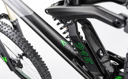 Detail image of Cube TWO15 HPA Race 27.5 black´n´green 2017 (4)