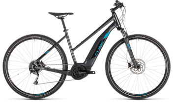 CUBE Cross Hybrid ONE 400 iridium´n´blue 2019