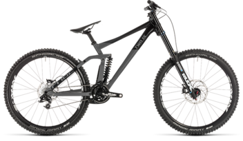 CUBE TWO15 Race grey´n´black 2019