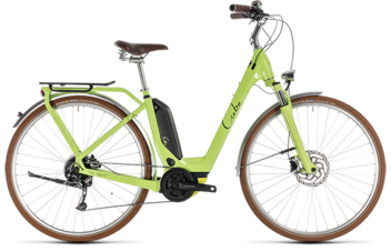 CUBE Elly Ride Hybrid 400 green´n´black 2019