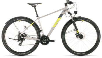CUBE Aim Allroad silver´n´flashyellow 2020