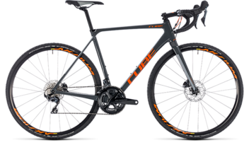 CUBE Cross Race C:62 Pro grey´n´orange 2018