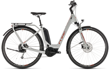 CUBE Touring Hybrid 400 grey´n´orange 2019