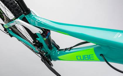 Detail image of Cube Sting WLS 140 Race 27.5 2x mint´n´green 2017 (4)