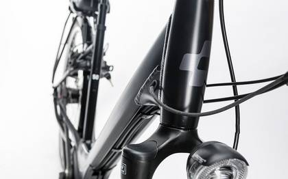 Detail image of Cube Travel Hybrid RT 500 black´n´white 2017 (4)