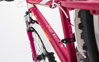 Detail image of Cube Kid 240 Allroad girl berry´n´white 2017 (4)