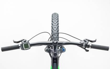 Detail image of Cube Stereo Hybrid 120 HPA Race 500 27.5+ black´n´green 2017 (1)