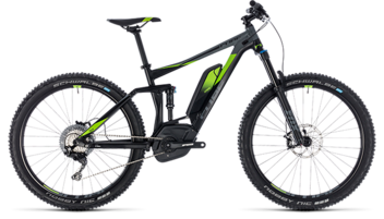 CUBE Stereo Hybrid 140 Race 500 27.5 black´n´green 2018