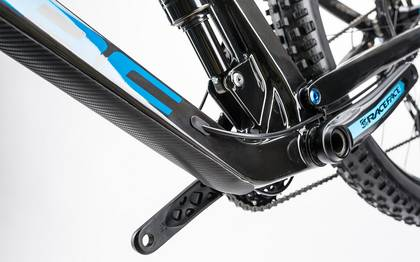 Detail image of Cube Stereo 140 C:62 Race 29 carbon´n´blue 2017 (8)