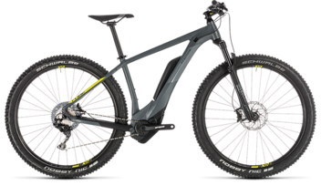 CUBE Reaction Hybrid Race 500 grey´n´lime 2019