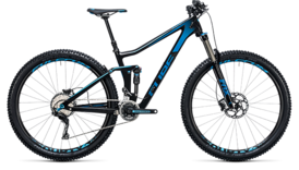 CUBE Stereo 140 C:62 Race 29 carbon´n´blue 2017