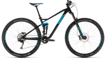 CUBE Stereo 120 Race 29 black´n´blue 2019