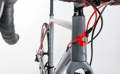 Detail image of Cube Cross Race Pro grey´n´flashred 2017 (7)