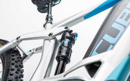 Detail image of Cube Stereo Hybrid 160 HPA Race 500 27.5 metal´n´blue 2017 (10)