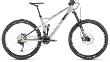 CUBE Stereo 140 HPC Race 27.5 grey´n´white 2019