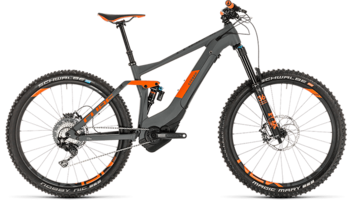 CUBE Stereo Hybrid 140 TM 500 27.5 grey´n´orange 2019