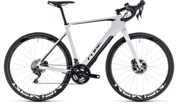 CUBE Agree Hybrid C:62 SL Disc white´n´black 2019
