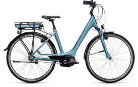 CUBE Travel Hybrid ONE RT 400 bluegreen´n´blue 2017