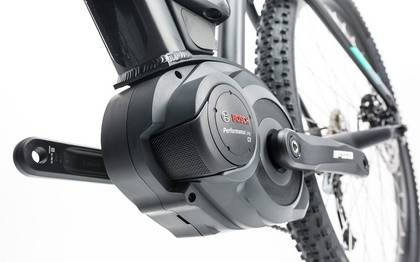 Detail image of Cube Access WLS Hybrid ONE 400 black´n´blue 2017 (10)