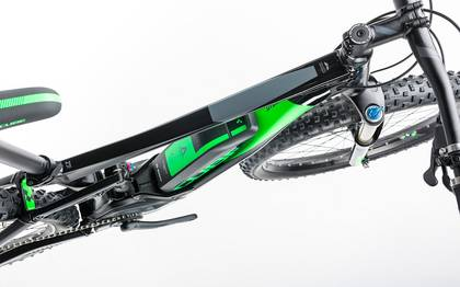 Detail image of Cube Stereo Hybrid 120 HPA Race 500 27.5+ black´n´green 2017 (2)