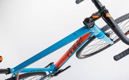 Detail image of Cube Cross Race SLT blue´n´flashorange 2017 (2)