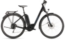 CUBE Touring Hybrid ONE 400 black´n´blue 2019