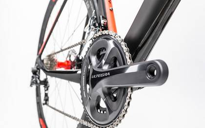 Detail image of Cube Agree C:62 Race Disc carbon´n´flashred 2017 (10)