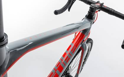 Detail image of Cube Cross Race Pro grey´n´flashred 2017 (4)