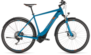 CUBE Cross Hybrid Race 500 Allroad blue´n´orange 2019