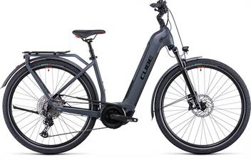 Cube Touring Hybrid EXC 500 grey´n´red