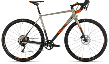CUBE Nuroad SL titanium´n´orange 2020