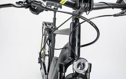 Detail image of Cube Touring Hybrid Exc 500 black´n´lime 2017 (6)